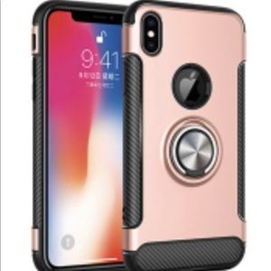 iPhone X Rose Gold Phone Case